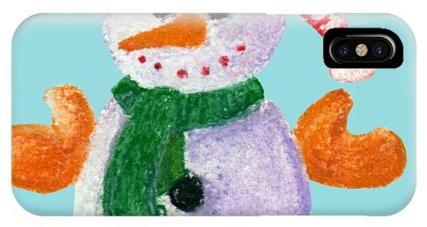 Little Snowman IPhone Case