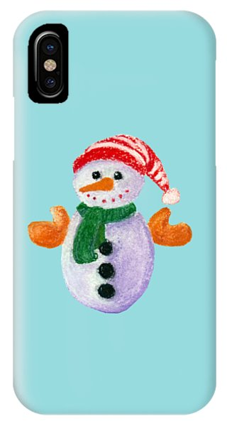 Little Snowman IPhone Case