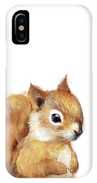 Babies iPhone Case - Little Squirrel by Amy Hamilton