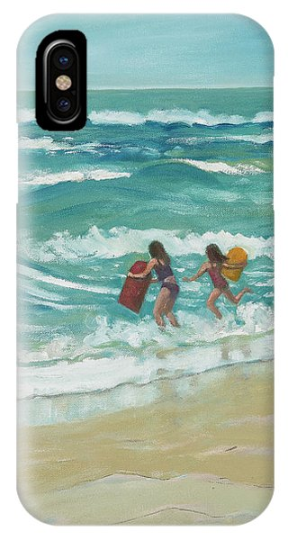 Little Surfers IPhone Case