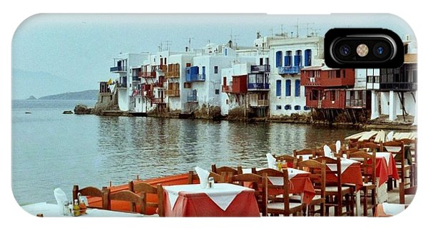 Little Venice On Mykonos IPhone Case