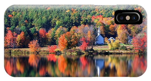 'little White Church', Eaton, Nh	 IPhone Case