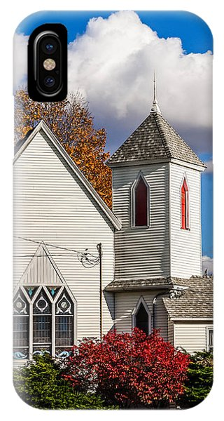 Little White Church IPhone Case