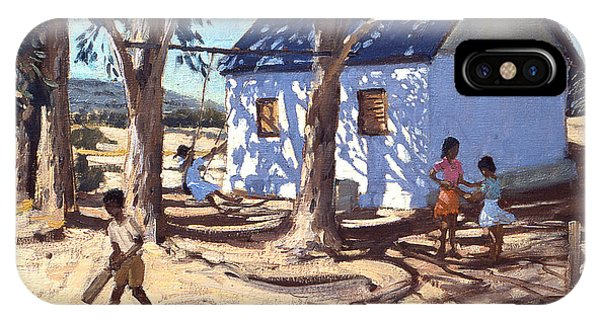 Cricket iPhone Case - Little White House Karoo South Africa by Andrew Macara