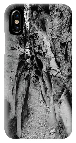 Little Wild Horse Canyon Bw IPhone Case