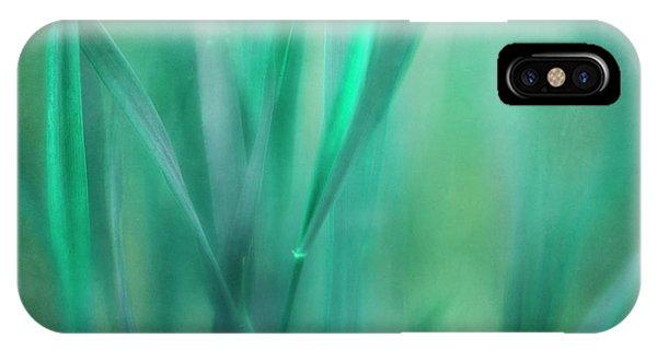 Teal iPhone Case - Little World by Priska Wettstein