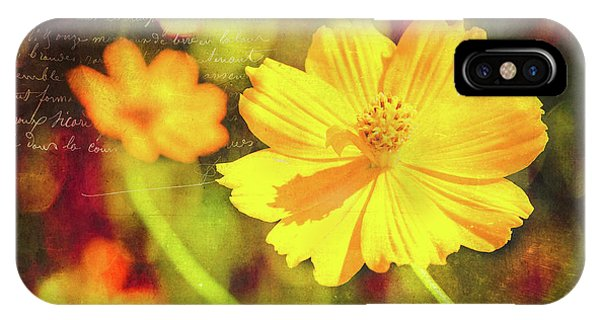 IPhone Case featuring the photograph Little Yellow Flowers by Anna Louise