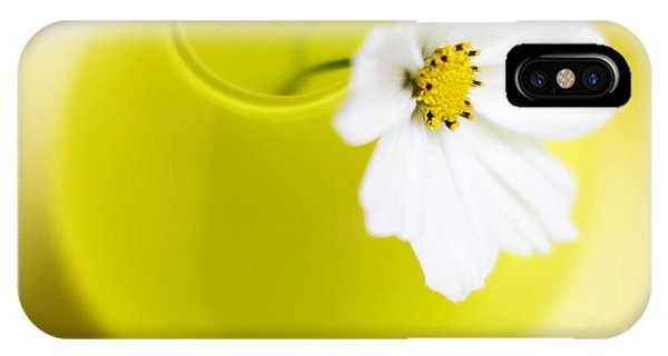 Little Yellow Vase Phone Case by Rebecca Cozart