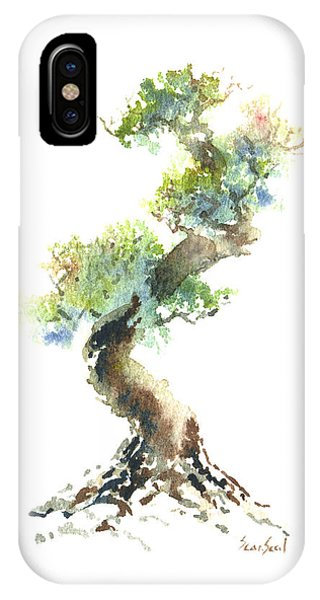 Little Zen Tree 1692 IPhone Case