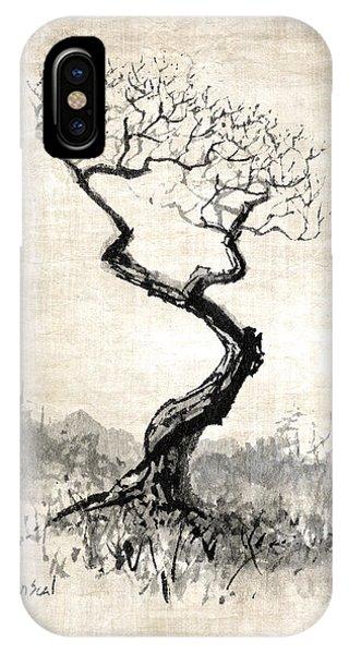 Little Zen Tree 1820 IPhone Case