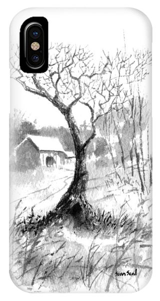 Little Zen Tree 1832 IPhone Case