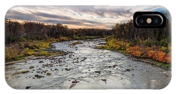 Littlefork River IPhone Case