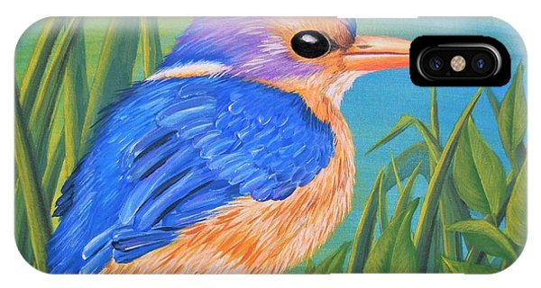 Litttle King Of The Fishers IPhone Case