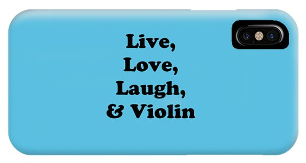 Live Love Laugh And Violin 5613.02 IPhone Case