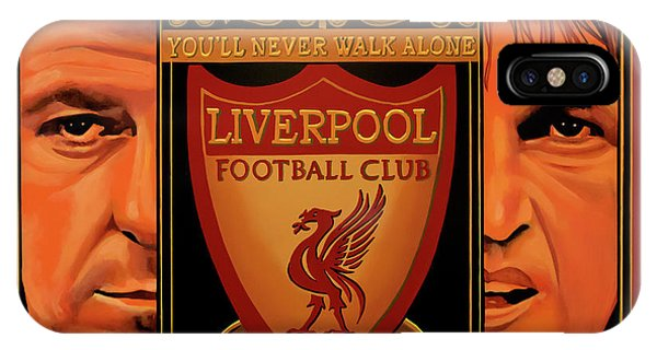 Or iPhone Case - Liverpool Painting by Paul Meijering