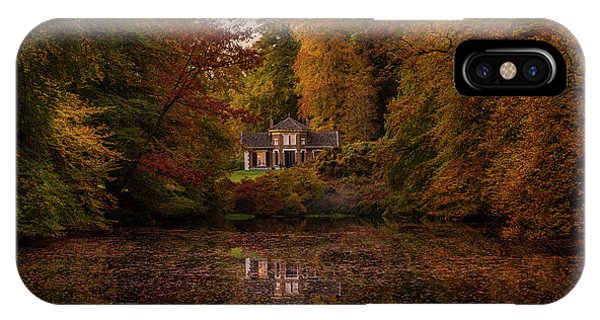 Living Between Autumn Colors IPhone Case