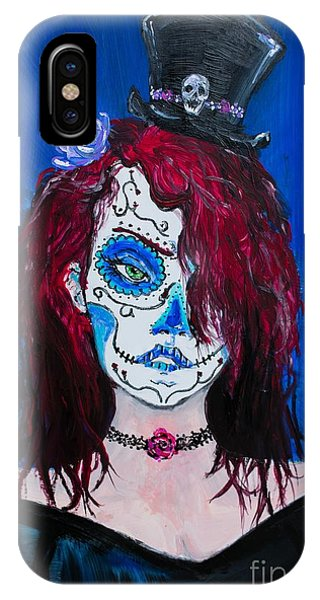 Living Dead Girl IPhone Case