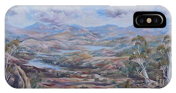 Living Desert Broken Hill IPhone Case