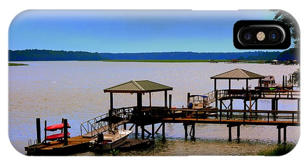 IPhone Case featuring the photograph Living In The Lowcountry by Lisa Wooten