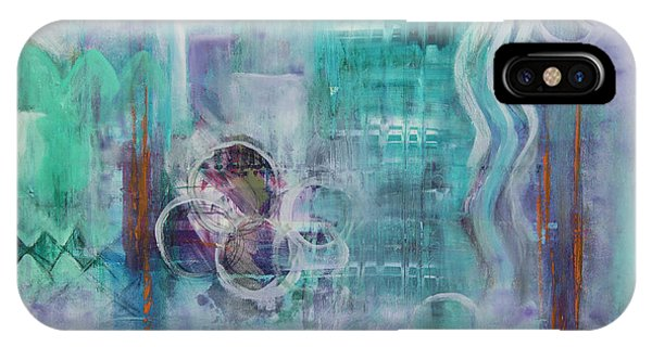 IPhone Case featuring the painting Living In The Mystery by Jocelyn Friis