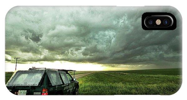 Living Saskatchewan Sky IPhone Case