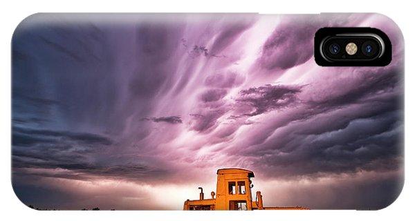 Living Sky In Nebraska IPhone Case