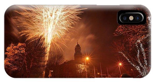 Llanelli Fireworks IPhone Case