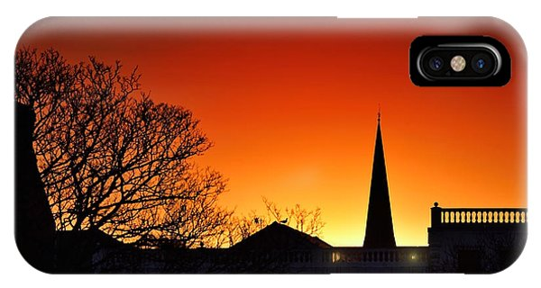 Llanelli Rooftops IPhone Case