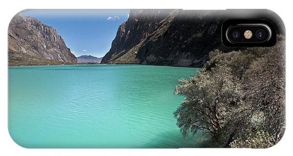Llanganuco Lakes In Cordillera Blanca IPhone Case