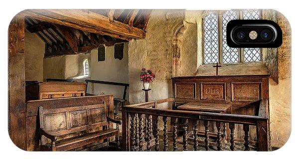 Chapel iPhone Case - Llangelynnin Church by Adrian Evans