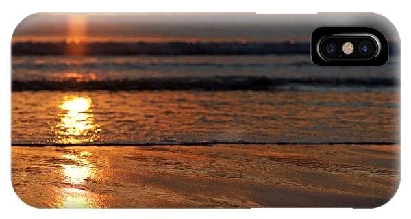 Llangennith Beach Sand Textures IPhone Case