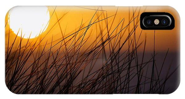 Llangennith Sun IPhone Case