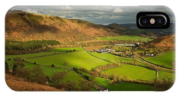 Llangollen In The Evening Light IPhone Case