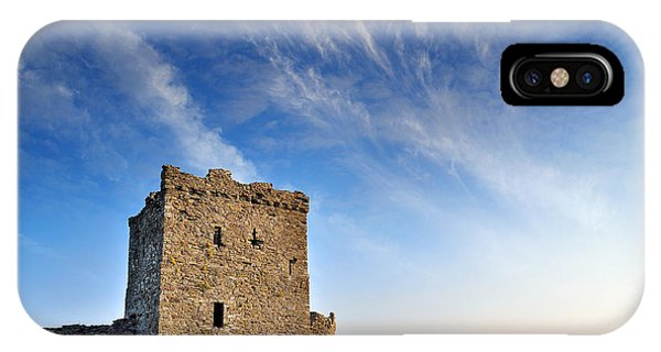 Llansteffan Castle 1 IPhone Case