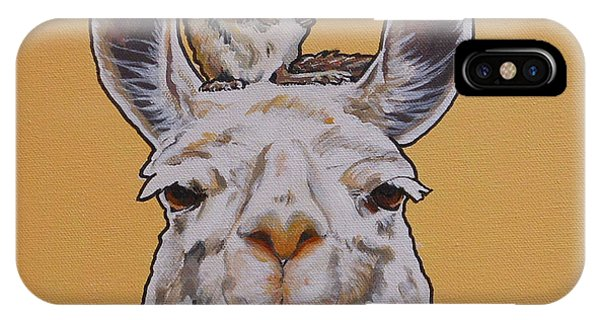 Llois The Llama IPhone Case