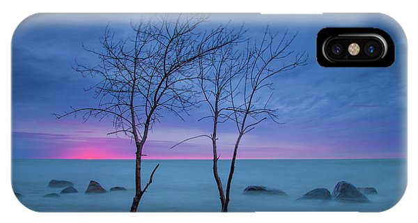 Lm Trees IPhone Case