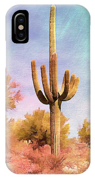 Lone Saugaro IPhone Case