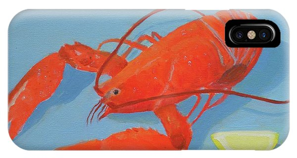 Lobster And Lemon IPhone Case