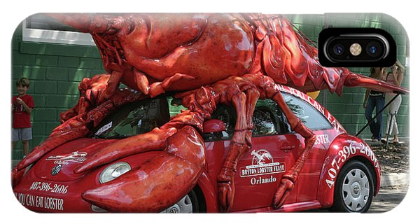Lobster Car Phone Case by Carl Purcell