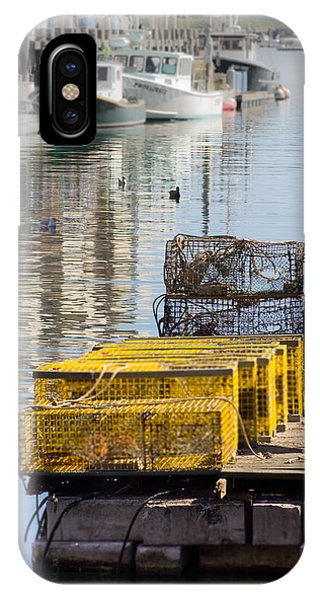Lobster Traps IPhone Case