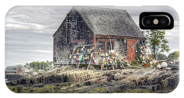 Lobsterman's Shack Of Mackerel Cove IPhone Case