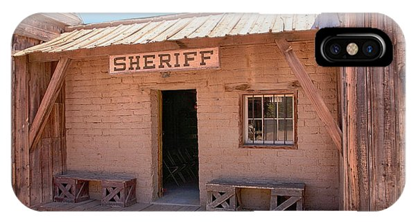 Local Sheriff Tucson IPhone Case