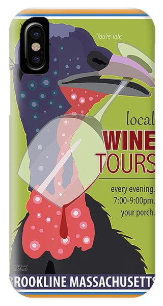 Local Wine Tours IPhone Case