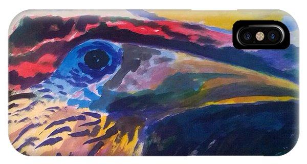 L'occhio Del Tucano IPhone Case