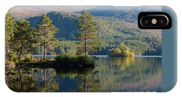 Loch An Eilein - Cairngorms National Park IPhone Case