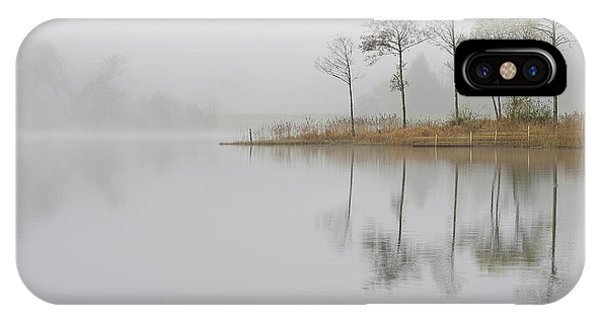 Loch Ard Misty Sunrise IPhone Case