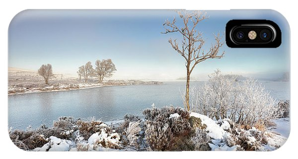 IPhone Case featuring the photograph Loch Ba Winter by Grant Glendinning