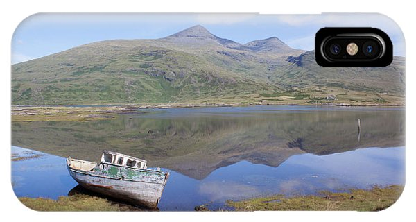 Loch Beg Reflections IPhone Case