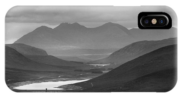 Loch Glascarnoch And An Teallach IPhone Case