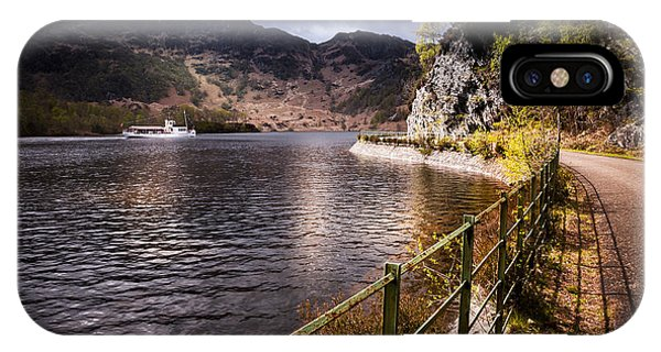 Loch Katrine IPhone Case